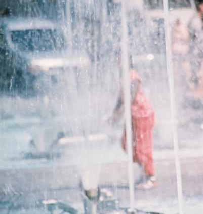 Girl in Fountain 2