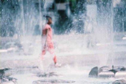 Girl in Fountain 5
