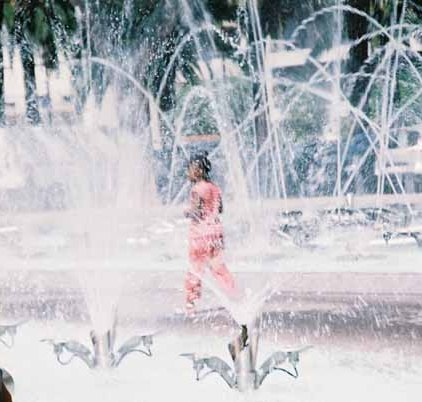 Girl in Fountain 6