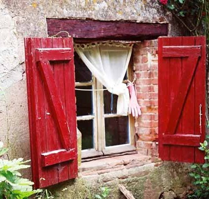 Red Shutters 1
