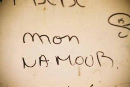 Mon namour graffiti 1490