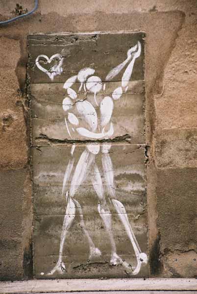 Dancers graffiti 1496
