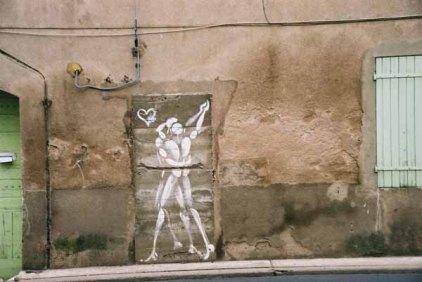 Dancers graffiti 1498