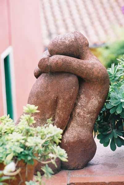 Lovers sculpture 1501