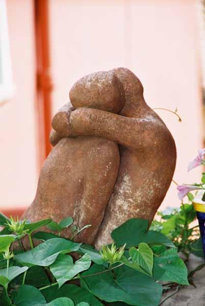 Lovers sculpture 1502