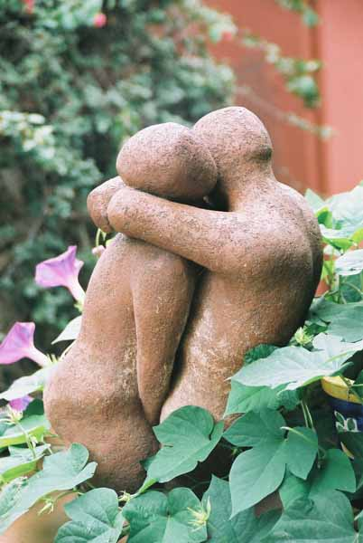 Lovers sculpture 1505