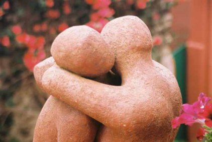 Lovers sculpture 1506