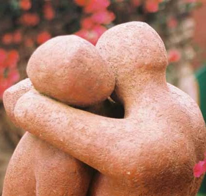 Lovers sculpture 1506