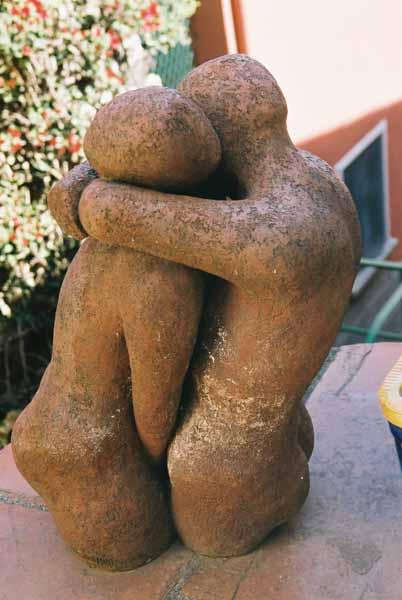 Lovers sculpture 1509