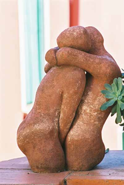 Lovers sculpture 1510