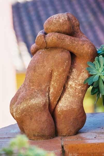 Lovers sculpture 1511